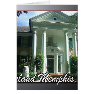 Graceland Memphis Tennessee Card