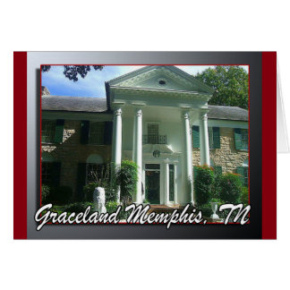 Graceland Memphis TN Card