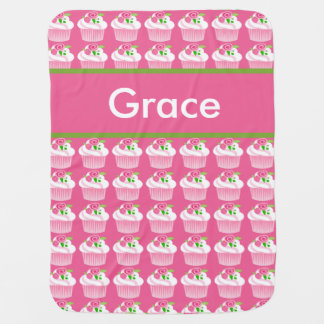 Grace's Personalized Cupcake Blanket