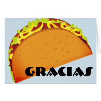 GRACIAS (Thank You) Card