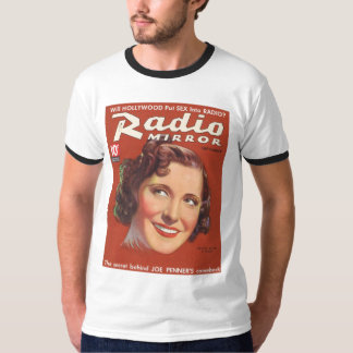 Gracie Allen Radio Mirror Mag Cover 1936 T-Shirt