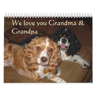 Gracie and Riley Calendars