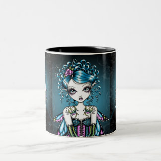 """Gracie"" Gothic Couture Swallow Tattoo Fairy Mug"