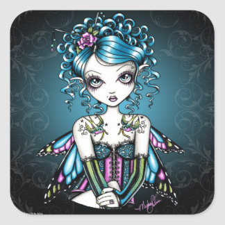 """Gracie"" Swallow Tattoo Fairy Art Stickers"
