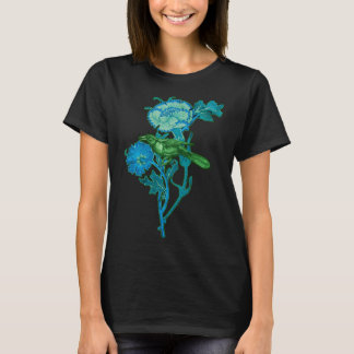 Grackle And Flowers T-Shirt