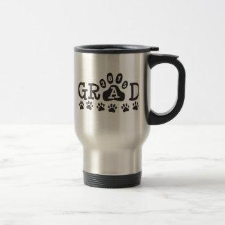 GRAD 2015 PAWS Graduation Stainless Steel Travel Mug