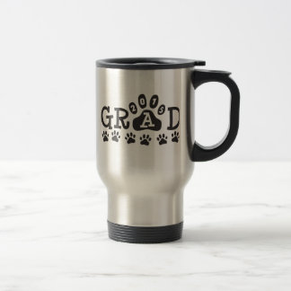 GRAD 2015 PAWS Graduation Travel Mug
