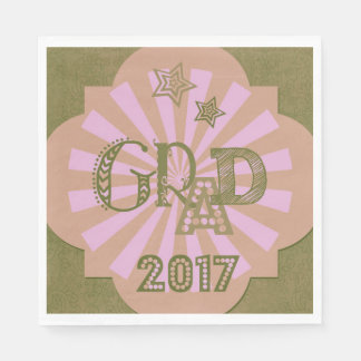 Grad-2017-cool--paper-serviettes-for-party Disposable Napkins