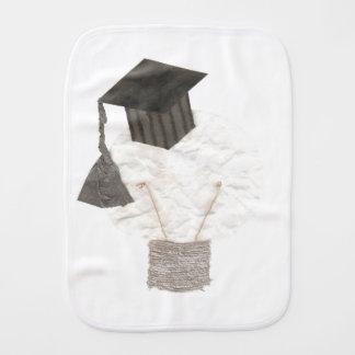 Grad Bulb Burp Cloth