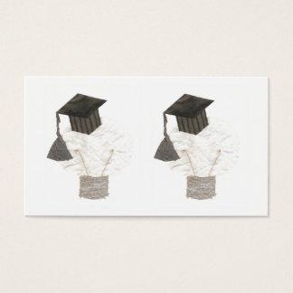 Grad Bulb Business Cards
