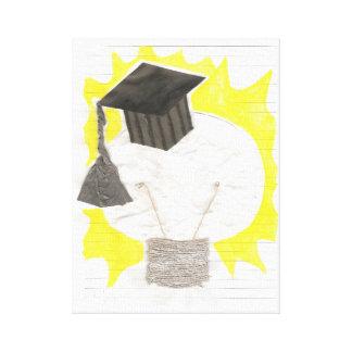 Grad Bulb Canvas