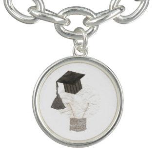 Grad Bulb Charm Bracelet