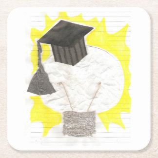 Grad Bulb Custom Coaster