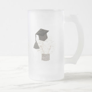 Grad Bulb Frosted Jug Frosted Glass Beer Mug