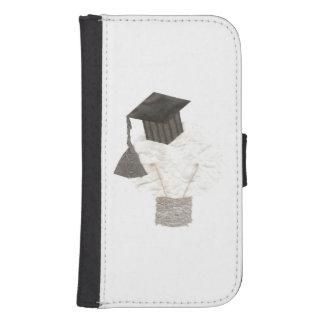 Grad Bulb Galaxy Samsung S4 Wallet Case