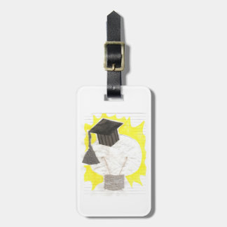 Grad Bulb Luggage Tag