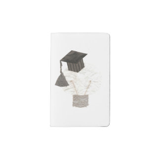 Grad Bulb No Background Custom Notebook