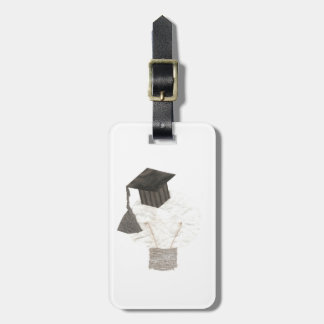 Grad Bulb No Background Luggage Tag