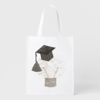 Grad Bulb No Background Reusable Bag