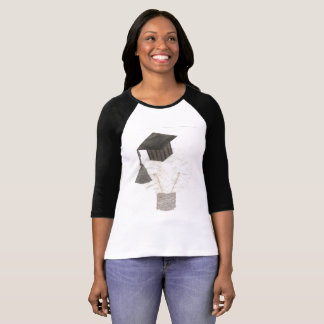 Grad Bulb No Background Women's Raglan Top