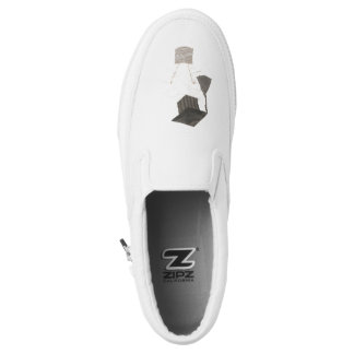 Grad Bulb No Background Women's Slip On Shoes