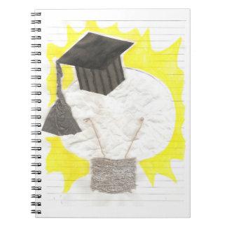 Grad Bulb Notebook