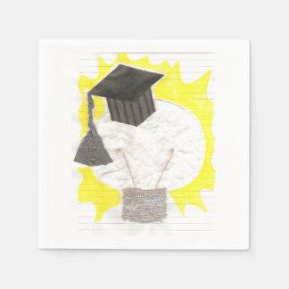 Grad Bulb Paper Napkin