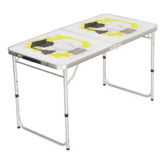 Grad Bulb Ping Pong Table