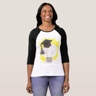 Grad Bulb Women's Raglan Top