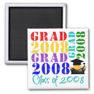 Grad Class of 2008 Refrigerator Magnets