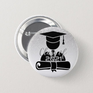 Grad Student - Class of 20XX 2 Inch Round Button