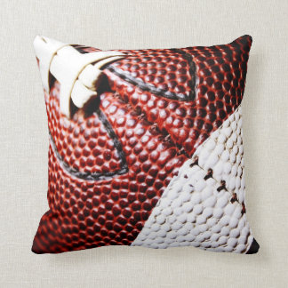 Grade A Cotton Throw Pillow/Football Throw Pillow