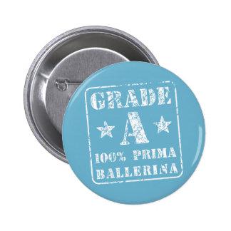Grade A Prima Ballerina 2 Inch Round Button