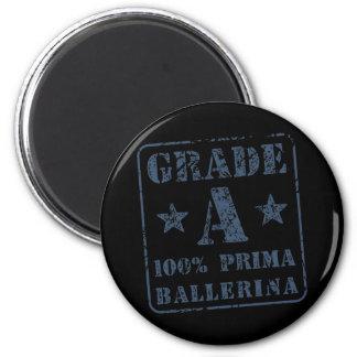 Grade A Prima Ballerina 2 Inch Round Magnet