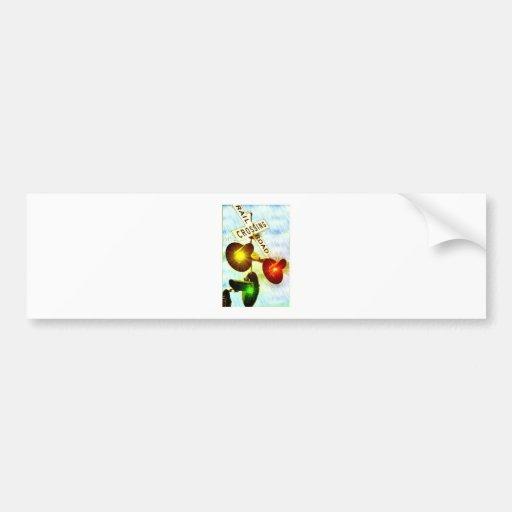Grade Crossing Bumper Sticker