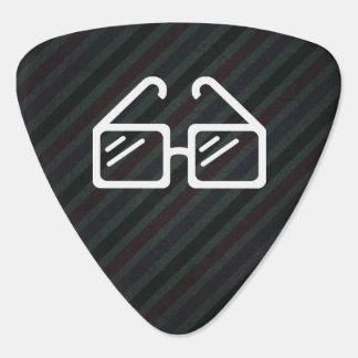 Graded Glasses Minimal Guitar Pick