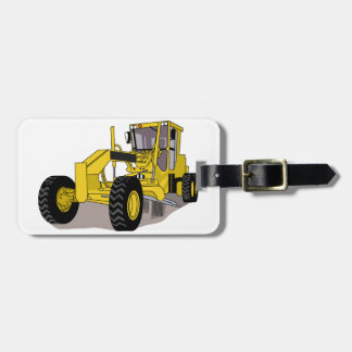 Grader Luggage Tag
