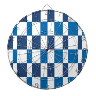 Gradient Blue Dartboard