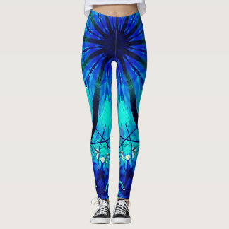 Gradient Blue Leggings