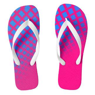 Gradient Blue & Pink FlipFlops Flip Flops