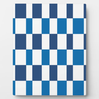 Gradient Blue Plaque