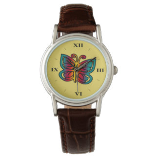 Gradient Butterfly Fashion Watch by Julie Everhart
