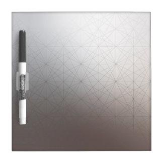 Gradient Color Geometric Line Pattern Whiteboard