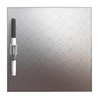 Gradient Color Geometric Line Pattern Whiteboard Dry-Erase Board