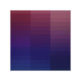 Gradient Color Pattern Canvas Print