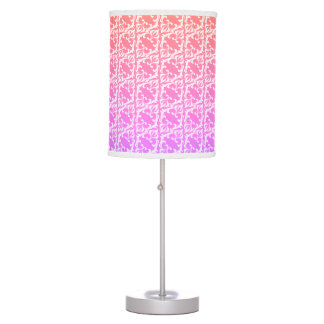 Gradient Damask Lamp