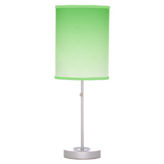 Gradient Dark Green to Light Green lamp