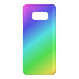 Gradient diagonale rainbow-coloured uncommon samsung galaxy s8 case