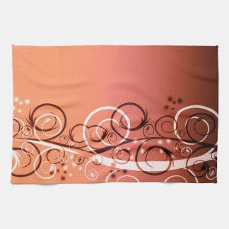 Gradient Filligree Kitchen Towel