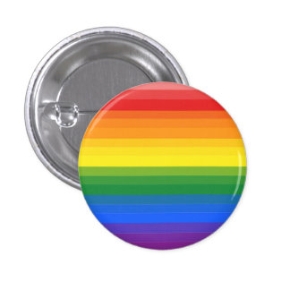 Gradient Gay Pride Flag Button